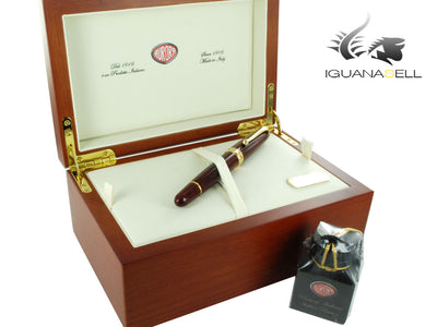 Aurora 88 Sigaro Fountain Pen, Lacquer, Gold trim, Limited Edition