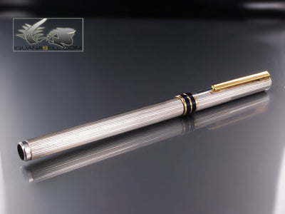 Aurora Fountain Pen Marco Polo - Silver & Gold trims
