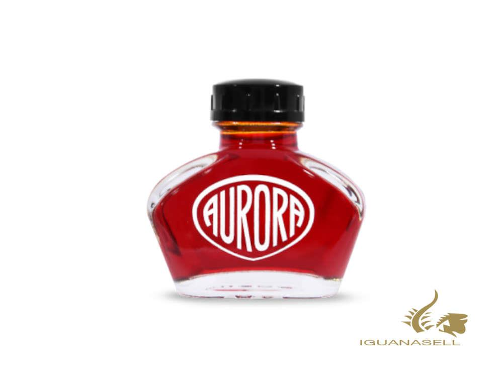 Aurora Ink Bottle, Red, 55ml, Crystal NC124-RO