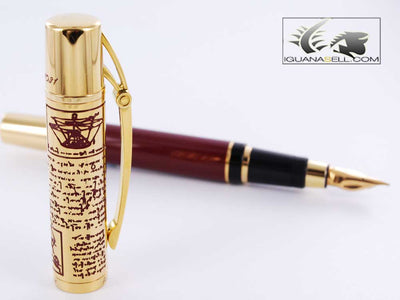 Aurora Limited Edition Fountain Pen, Resin, 18k Gold, 938