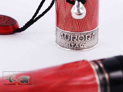 Aurora Saint Petersburg LE Fountain Pen - Solid Silver