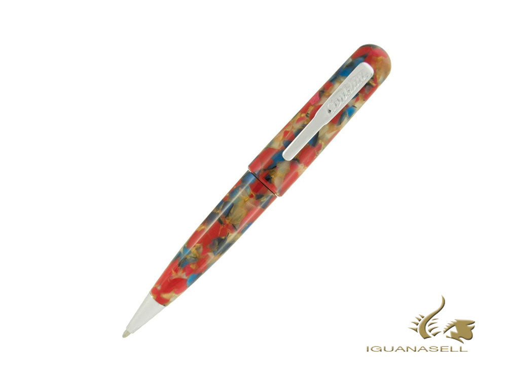 Conklin All American Old Glory Ballpoint pen, Resin, Chrome, CK71435