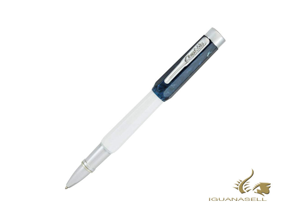 Conklin Nozac Israel 70  Rollerball pen, White, Limited Edition, CK75326