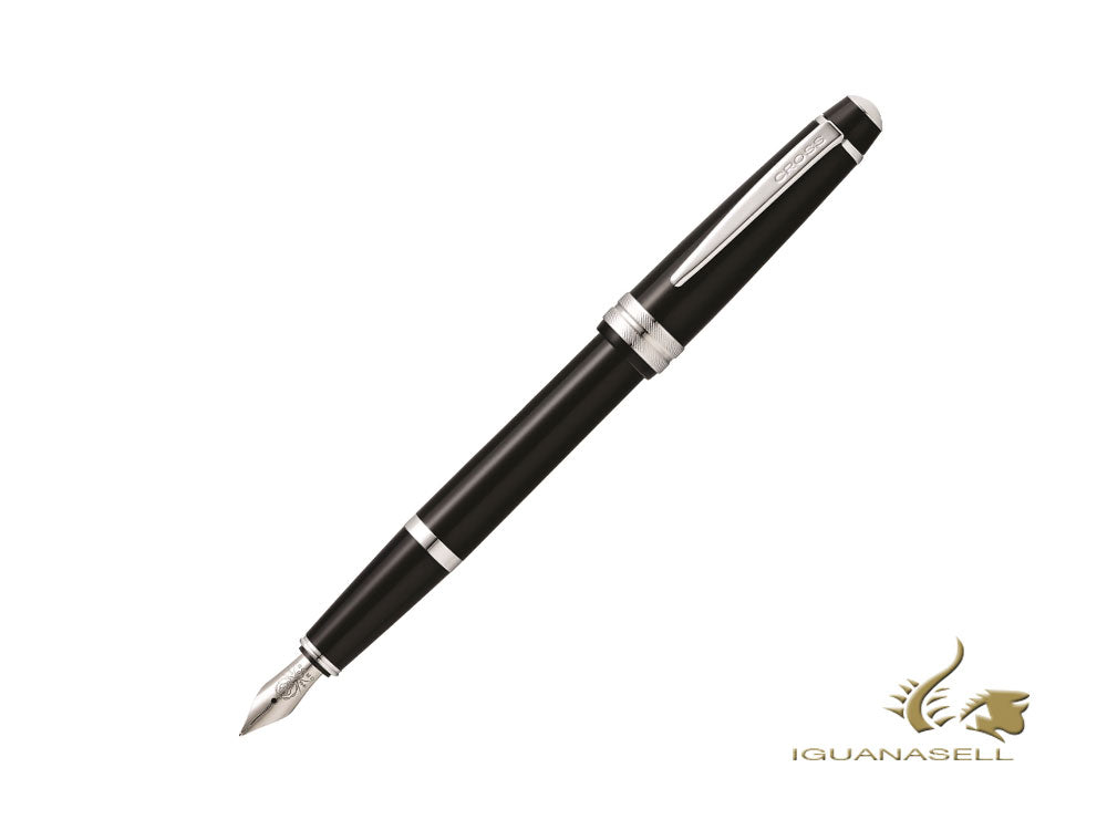 Cross Bailey Light Fountain Pen, Resin, Stainless Steel, AT0476-1MS