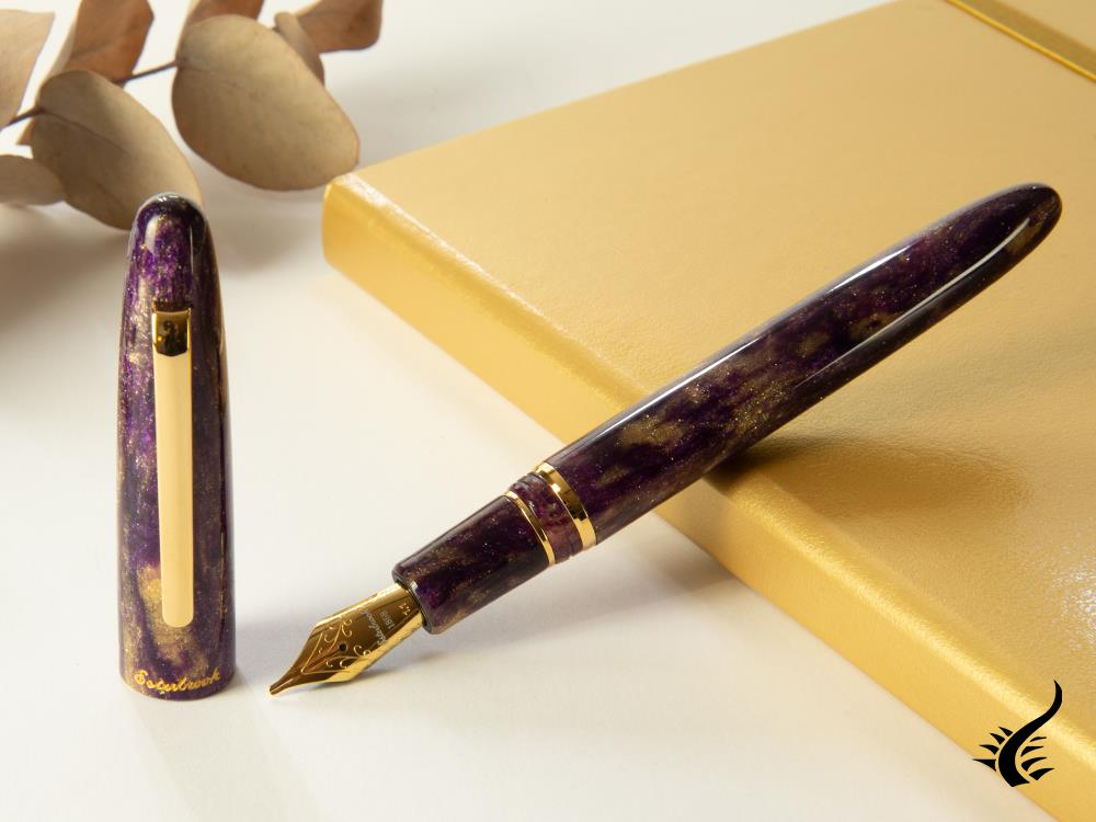 Esterbrook Estie Gold Rush Dream Purple Fountain Pen, Resin, EGR531