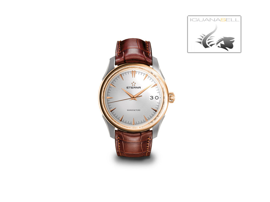 Eterna1948 Legacy Big Date Automatic Watch, Eterna 3030, 41,5 mm, 18kt Rose gold