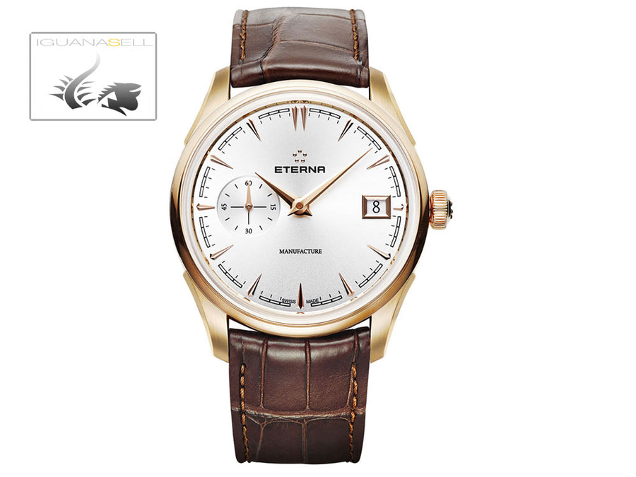 Eterna Heritage 1948 Legacy Small Second Automatic Watch, Eterna 3903A, 18K Gold