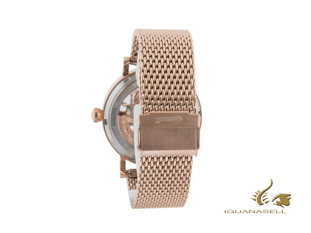 Ingersoll Herald Skeleton Automatic Watch, 40 mm, Rose gold, I00406