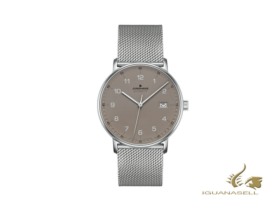 Junghans Form A Automatic Watch, J800.2, 39,3mm, Brown, Day, 027/4836.44