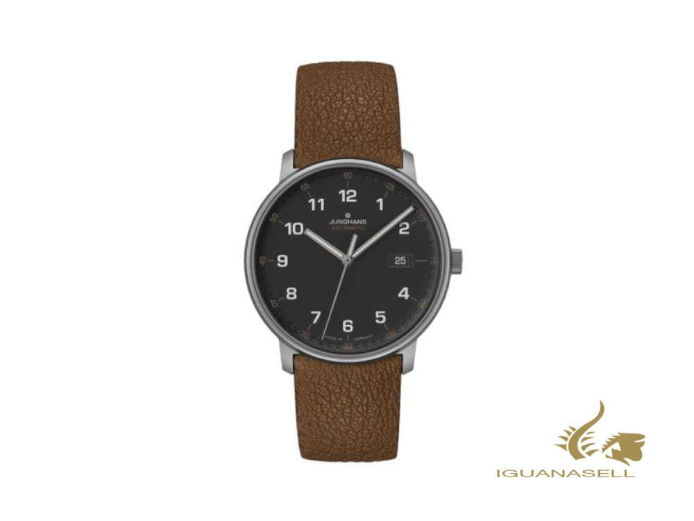Junghans Form A Titan Automatic Watch,  40 mm, Black, Day, 027/2002.00