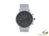 Junghans Form C Chronoscope Quartz Watch, J645.85, 40mm, Anthracite, 041/4877.44