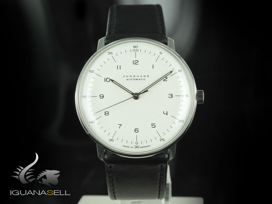 Junghans Max Bill Automatic Watch, J800.1, 38mm, White, 027/3500.00