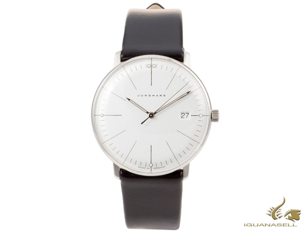 Junghans Max Bill Damen Quartz watch, J643.29, 32,7mm, Silver, 047/4251.00