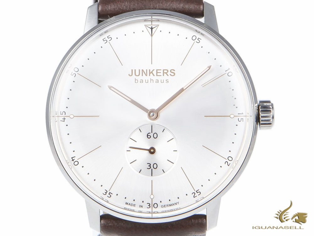 Junkers Bauhaus Automatic Watch, Stainless Steel, Silver, 40 mm, 6032-5