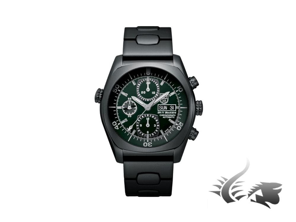 Luminox Air SR-71 Blackbird Automatic Watch, Valjoux 7750, Limited Ed, XA.9098 Automatic Watch