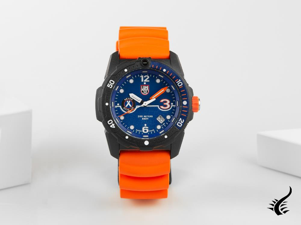 Luminox Bear Grylls Survival Watch, CARBONOX™, Blue, 42 mm, 20 atm, XB.3723.R3