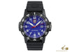 Luminox Leatherback Sea Turtle Giant 0323 Quartz Watch, Blue, Carbon, 44mm