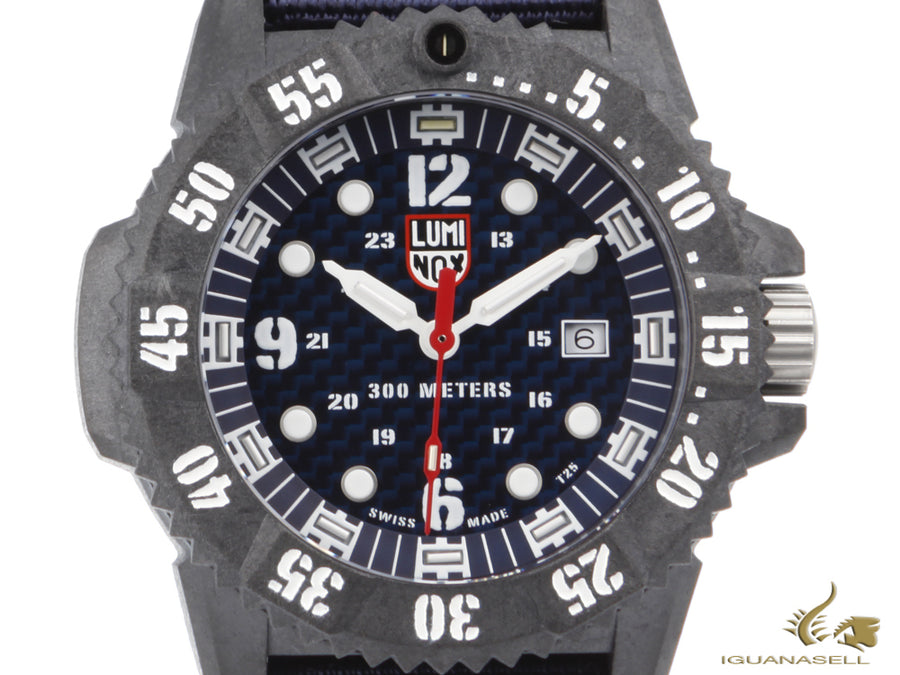 Luminox Master Carbon Seal Quartz Watch, Carbon, 30 atm, Limited Edition (750)
