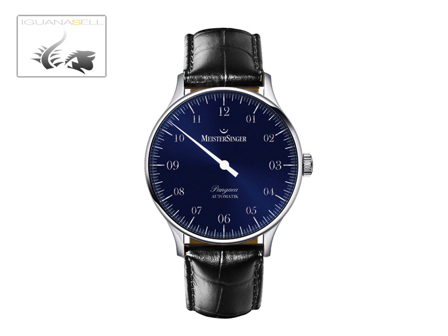 Meistersinger Pangaea Automatic Watch, 40mm. ETA 2892-A2, Leather strap, PM908
