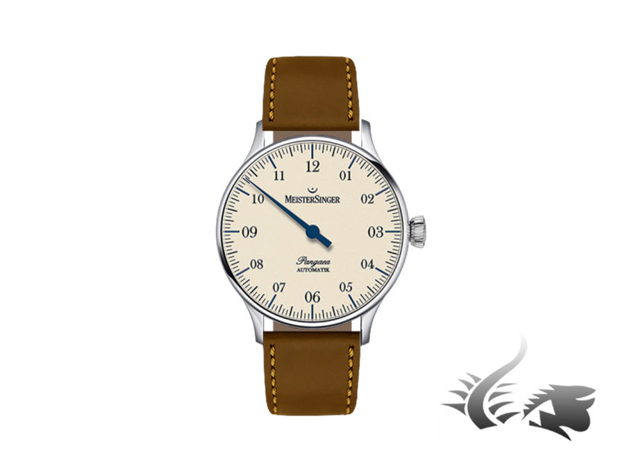 Meistersinger Pangaea Automatic Watch, ETA 2892-A2, Ivory, 40mm, PM903-SCF03