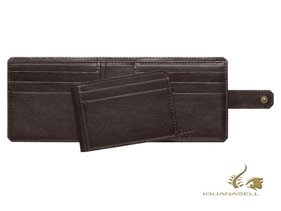 Montblanc 1926 Montblanc Heritage Wallet, Brown, Leather, Cotton, 116818