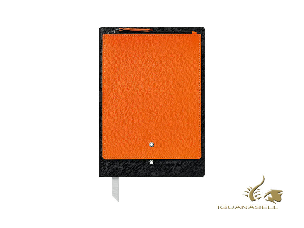 Montblanc A5 Notebook, Black/Orange, 192 pages 119482
