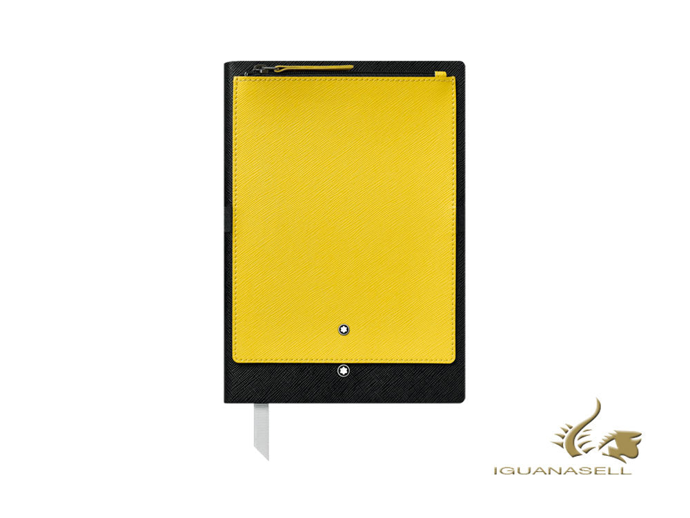 Montblanc A5 Notebook, Black/Yellow, 192 pages 119483