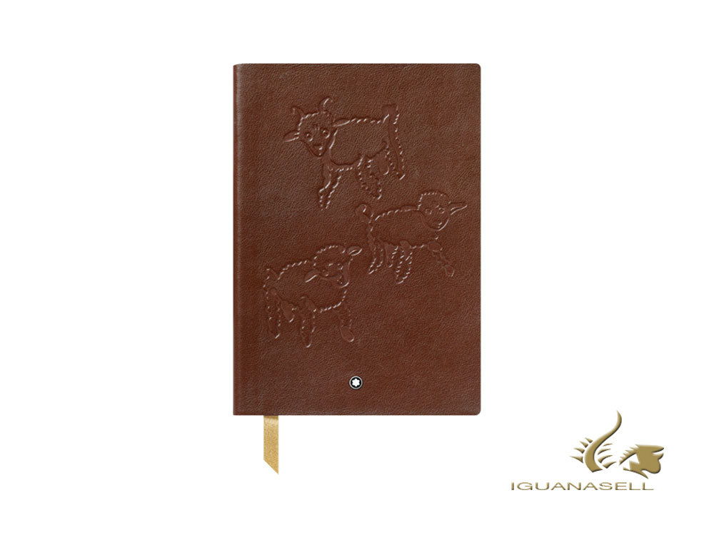 Montblanc A5 Notebook Le Petit Prince & Aviator, Brown, 192 pages 119485