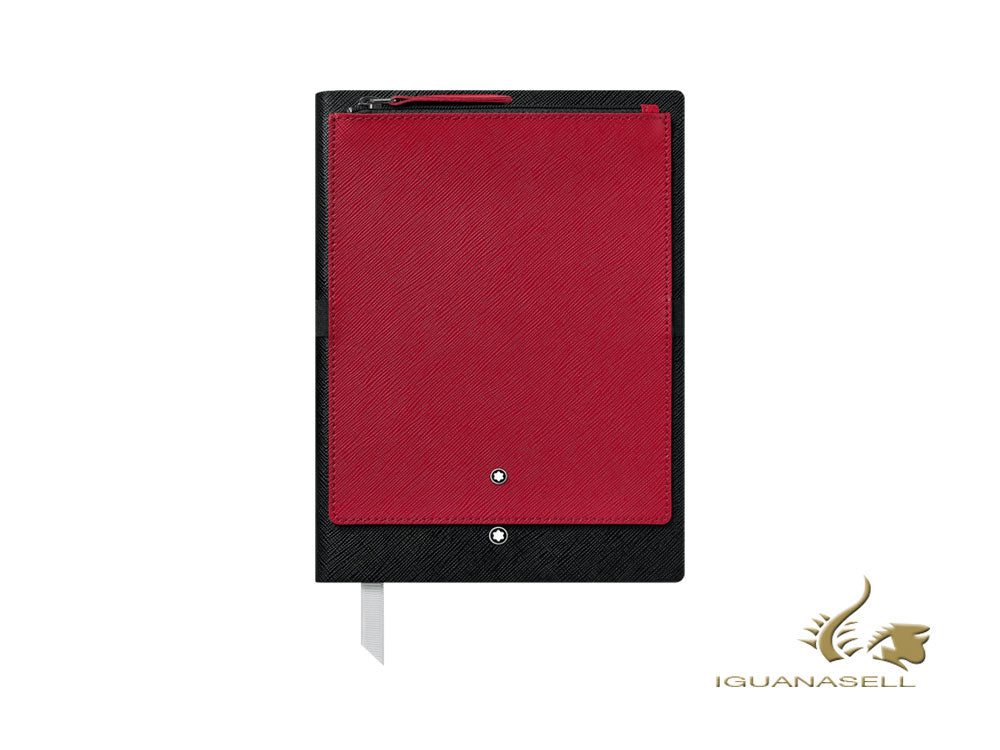 Montblanc A5 Notebook, Red/Black, 192 pages 119461