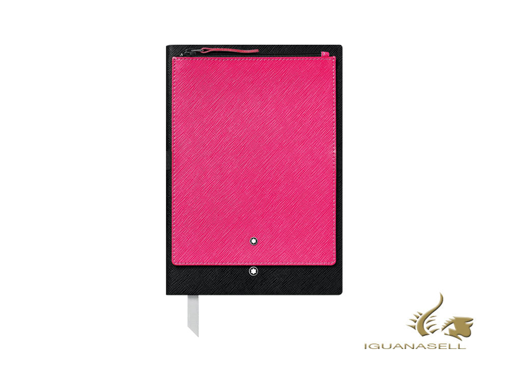 Montblanc A5 Notebook, Black/Pink, 192 pages 119460