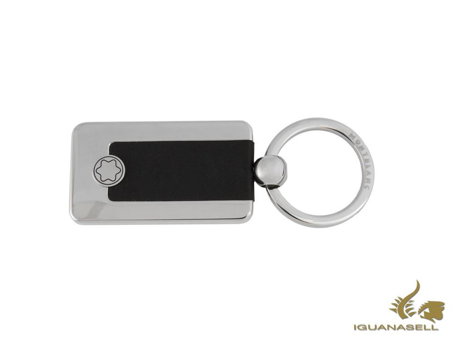 Montblanc Meisterstück Key ring, Metal, Full-grain Cowhide, Black, 114562