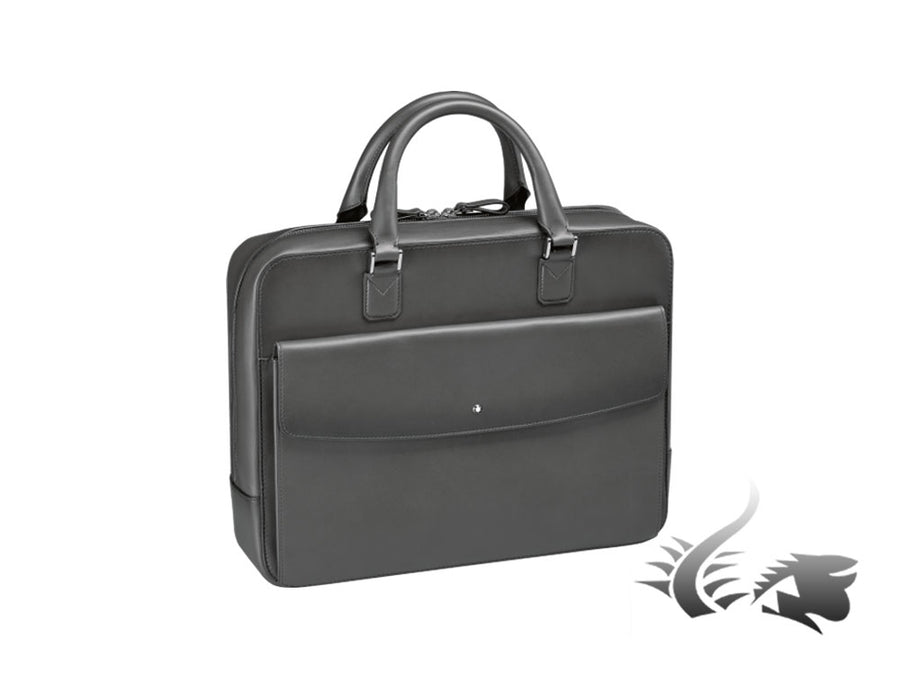 Montblanc Meisterstück Selection SfumatoDocument case, Leather, Grey, Zip