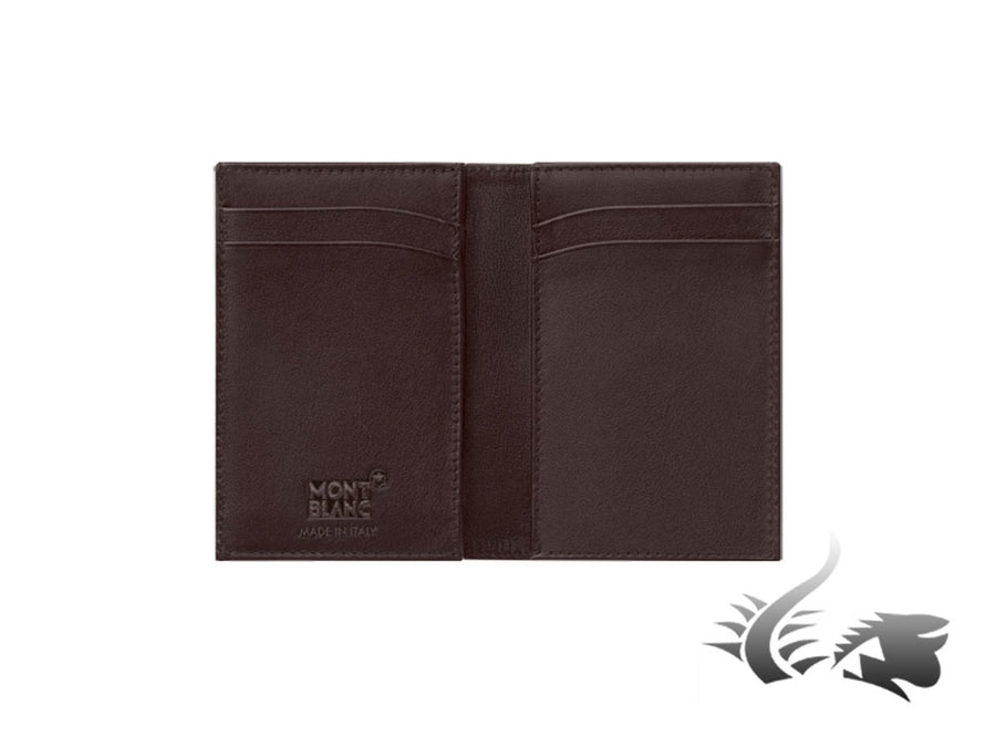 Montblanc Meisterstück Soft Grain Credit card holder, Leather, Brown, 4 Cards