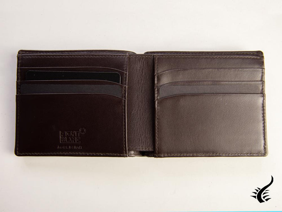 Montblanc Meisterstück Soft Grain Wallet, Brown, Leather, Cotton, 6 Cards