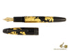 Montblanc Meisterstück Solitaire Calligraphy Fountain Pen, Gold, 119700