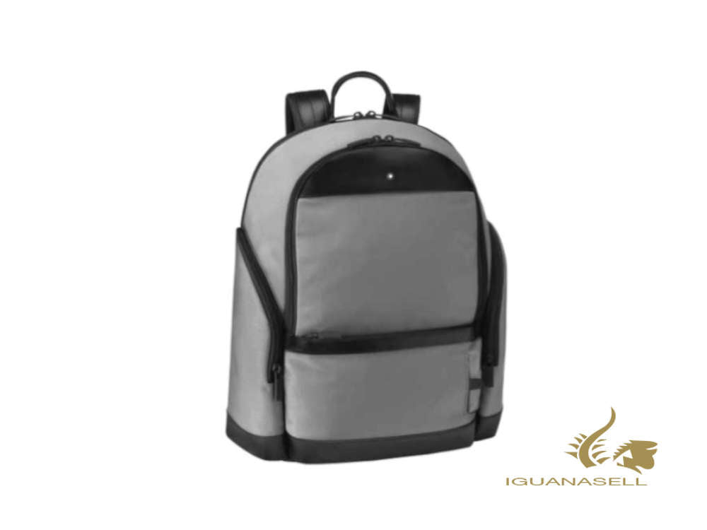 Montblanc 'My Montblanc Nightflight' Backpack, Nylon, Grey, Zip, 126660