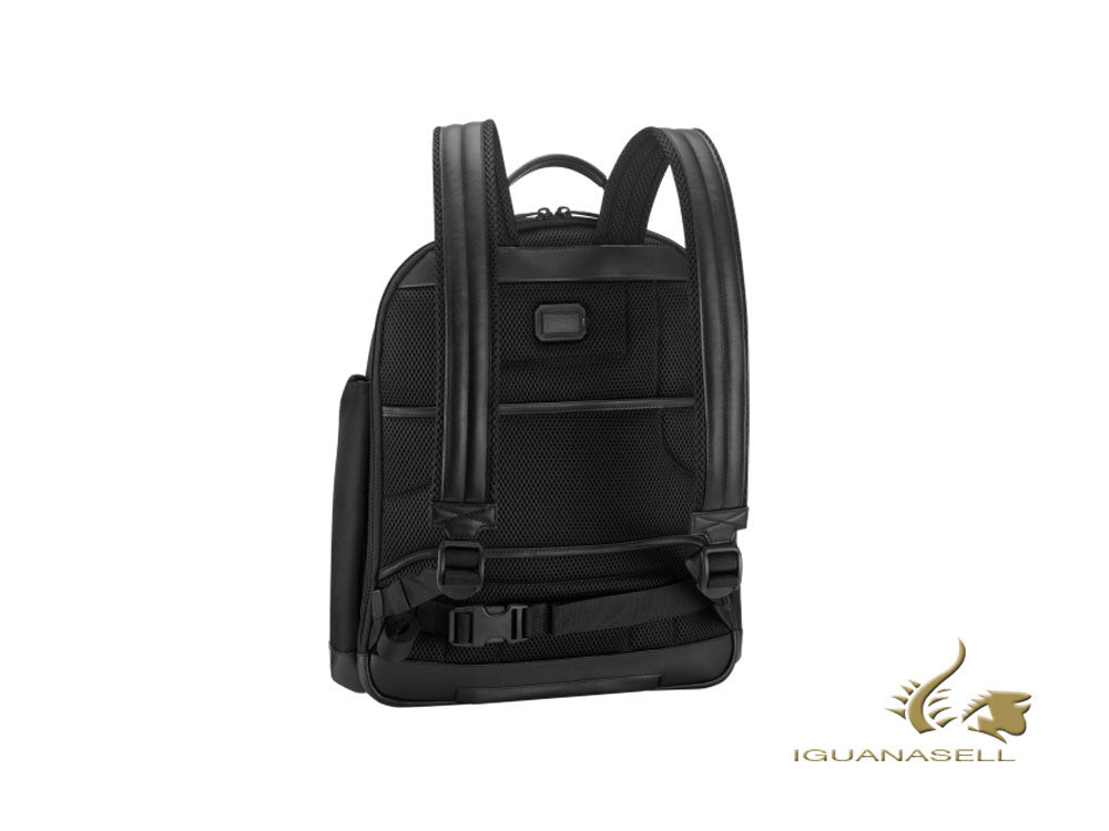Montblanc Nightflight Backpack, Nylon, Black, Laptop compartment, Zip, 119048