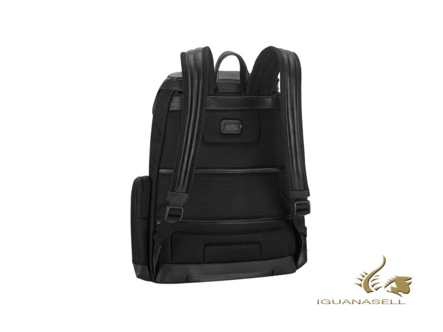 Montblanc Nightflight Large Backpack with Flap, Nylon, Laptop comp., 118259