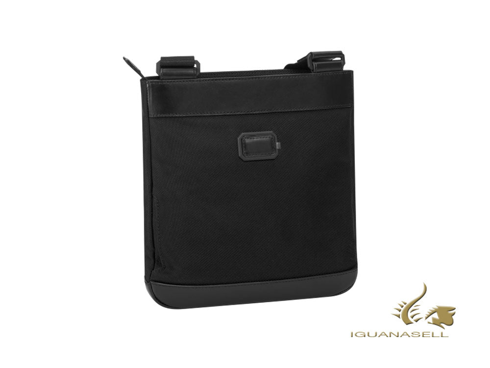 Montblanc Nightflight Men's bag Envelope, Nylon/Leather, Black, Zip, 118254