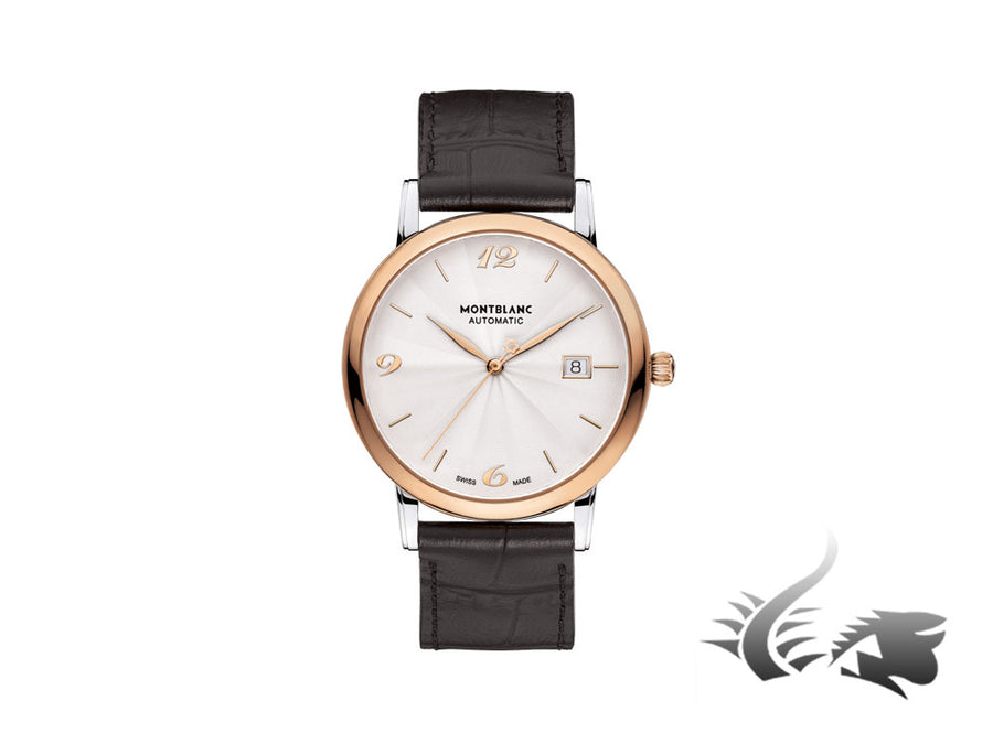 Montblanc Star Classique Automatic Watch, MB24.09, 18K Rose gold, Cayman, 113824