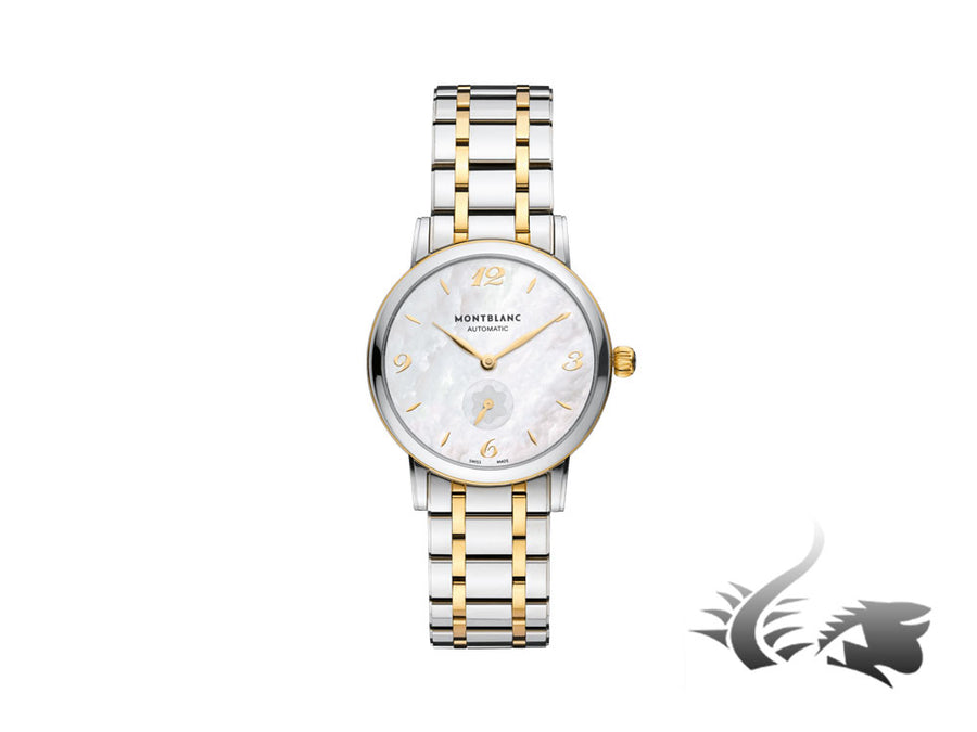 Montblanc Star Classique Lady Automatic Watch, Mother of pearl, 34mm, 107913