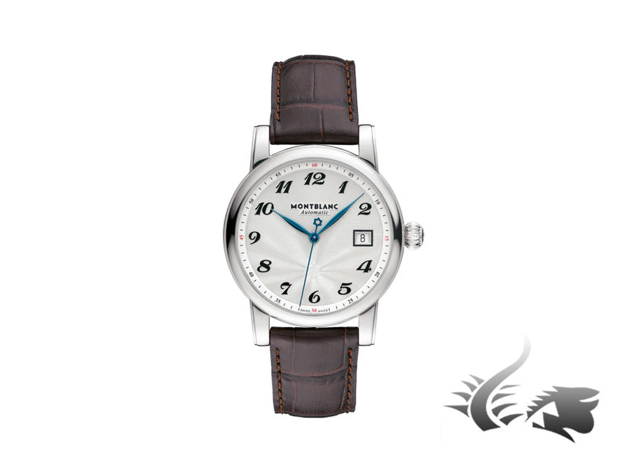 Montblanc Star Date Automatic Watch, MB 24.09, 39mm, Cayman Band, 107315