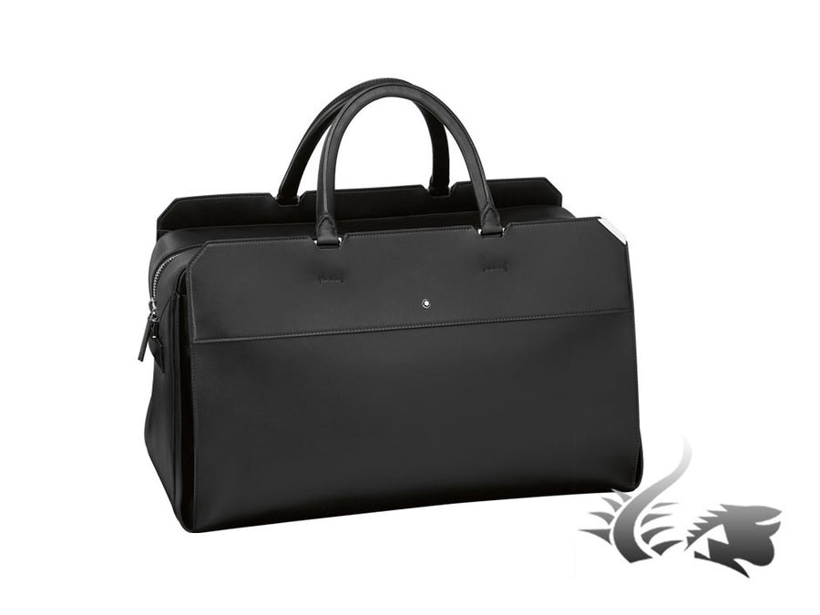 Montblanc Urban Spirit Duffle Men's bag, Leather, Black, 2 dividers, Zip