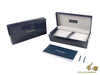Montegrappa Ducale Murano Mare Fountain Pen, Blue Resin, Palladium trim