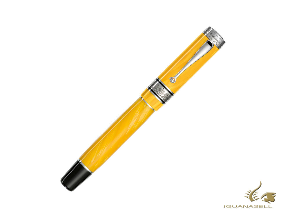 Montegrappa Duchess of York Fountain Pen, Yellow, Limited Ed, ISDYN-CY