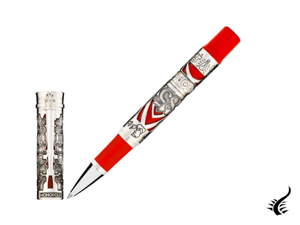 Montegrappa Monopoly 85th Rollerball pen, Silver Trim, Limited Edition, ISMXARSE