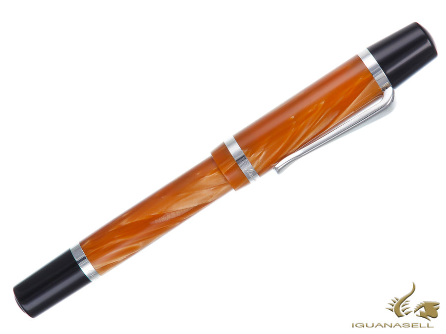 Montegrappa Nazionale Flex Caramel Limited Ed. Fountain Pen, ISNVN-CN
