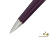 Montegrappa Parola Ballpoint pen, Lilac Resin, Chrome Trim, USB 32 GB, ISWOUSBL