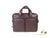 Piquadro Blue Square Document case, Leather, Brown, Zip, CA2849B2S/TM