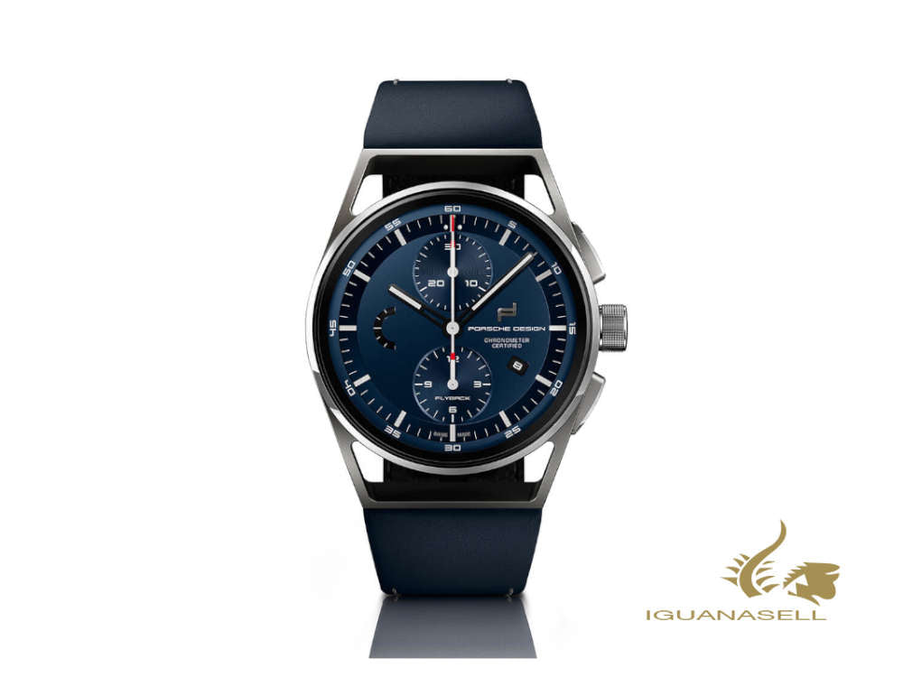 Porsche Design 1919 Automatic Watch, Titanium, Blue, COSC, 6023.6.04.006.072